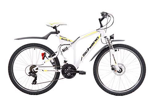 F.lli Schiano Bull Bicicleta de Doble suspensión, Adulto Un