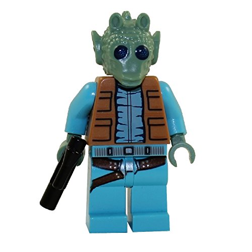 LEGO Star Wars Minifigure Bounty Hunter Greedo with blaster gun (75052)