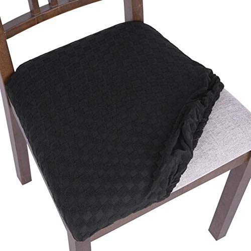 LLAAIT 1/2/4/6 pcs/Set Spandex Chair Cover Elastic Dining Seat Protect Case for Banquet Home Wedding Decoration New