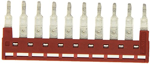 Dinkle DSS2.5N-10P DIN Rail Terminal Block Press-Fit Jumper (Pack of 10)