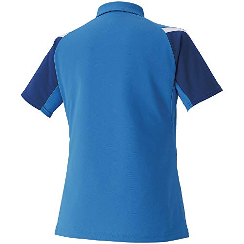 『[Mizuno] テニスウェア ウィメンズゲームシャツ 半袖 62JA0212 ディーバブルー 日本 M (日本サイズM相当)』の1枚目の画像