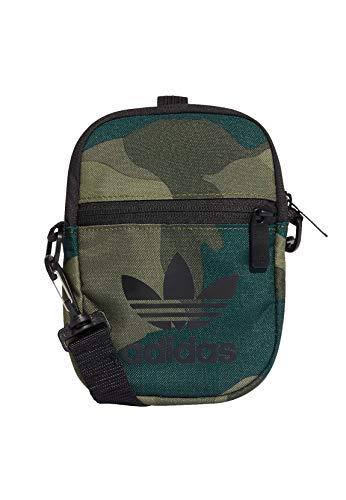 Adidas - Bandolera hombre, Estámpado militar