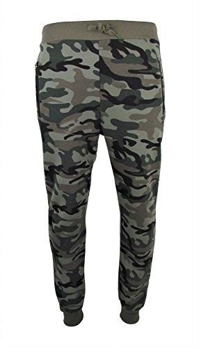 Jogginghose - Sporthose - Freizeithose - Trainingshose - Army Style - Camouflage Größe XXL