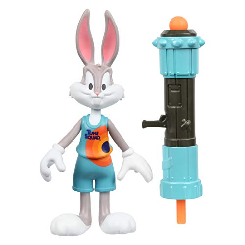 SPACE JAM: A New Legacy - Baller Action Figure - Bugs Bunny with Acme Blaster 3000