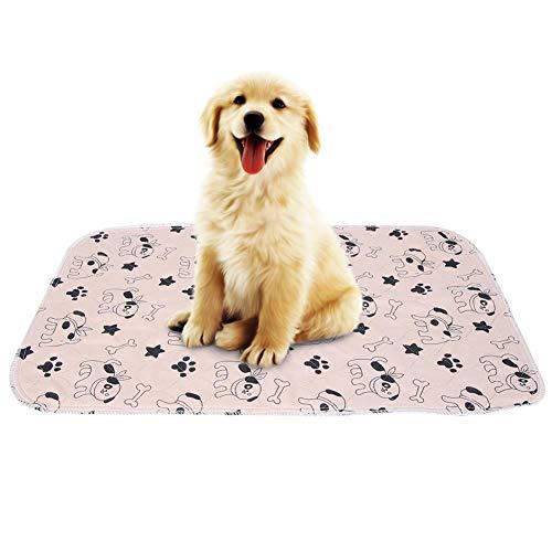 Bester der welt Smandy Pet Pee Pad Wiederverwendbares wasserdichtes Urinpad für Welpen, Hunde und Katzen in 3 Größen…