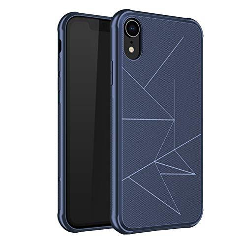 """Bakicey Bakicey iPhone XR Hülle, Dünn Leicht Hart PC Schutzhülle Case Cover Bumper [Kabelloses Aufladen Unterstützung] Anti-Scratch Hardcase Handyhülle für Apple iPhone XR (6,1"""") (Blau)"""