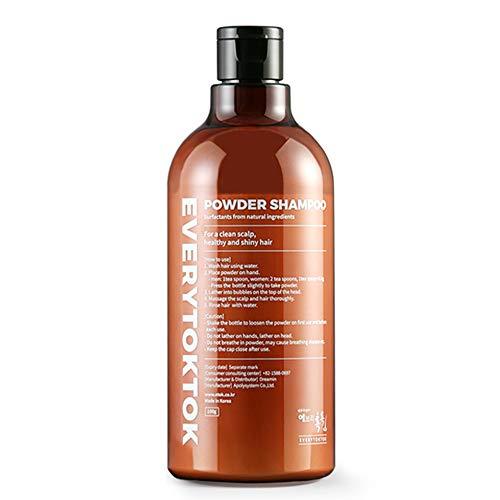 [EveryTokTok]Puder Shampoo - Silikonfreies, parabenfreies, parfümfreies, antichemisches Pudershampoo von koreanischem Shampoo