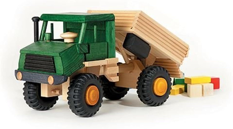 Uniwood 10002 Holzspielzeug Lkw Kipper