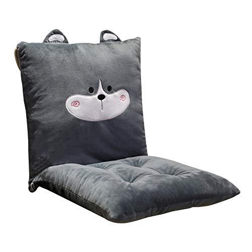 Yalatan Cartoon siamesische Kissen, süße Dinosaurier Bürostuhl Kissen, abnehmbare Home Sitzkissen Kissen für Erwachsene