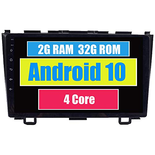 RoverOne Android 7.1 Système Pour Honda CRV CR-V 2006-2011 Autoradio Lecteur avec Autoradio Stéréo Navigation GPS Bluetooth HDMI MirrorLink Quad Core Système multimédia