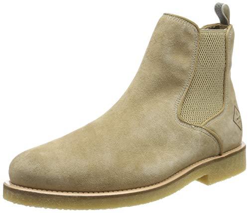 GANT Footwear Herren Barkley Chelsea Boots, Braun (Camel G14), 42 EU