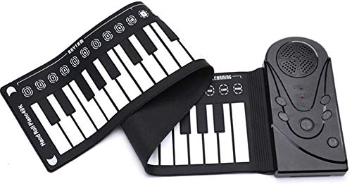 Best Deals! Sikungjlk Portable Piano Electronic The Piano Keyboard Students Children Beginners Intro...