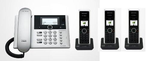 Telekom T-Home Sinus PA302i plus 3 , ISDN Telefon TRIO SET inkl. 3 Mobilteilen und Anrufbeantworter