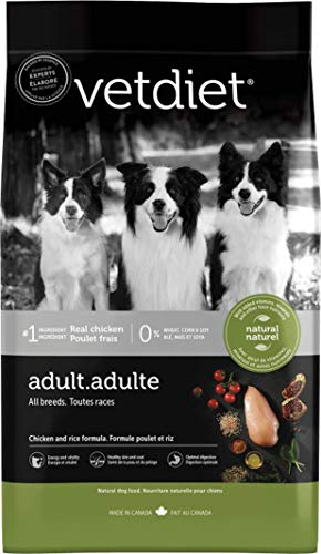 Vetdiet Super Premium Dog Food Adult Chicken and Rice (6lb)