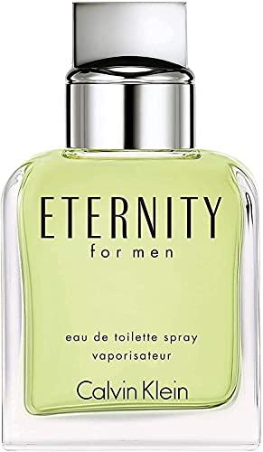 CALVIN KLEIN ETERNITY MEN Eau de Toilette para Hombre, Vaporizador, 100 ml