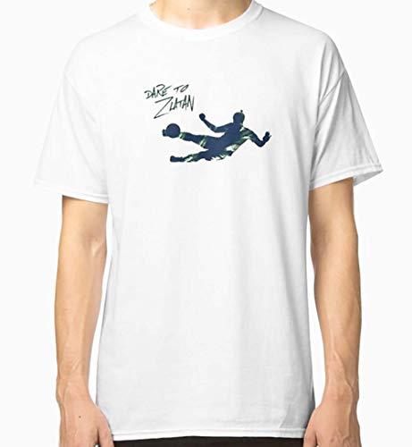 Morgani080820a1 PA Shirt Gr. S, Dare to Zlatan 2 Klassisches T-Shirt für Herren und Damen.