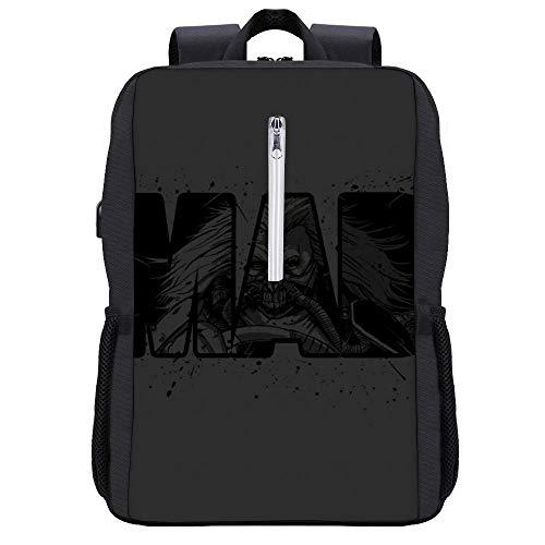 Mad Max Fury Road Immortan Joe Rucksack Daypack Bookbag Laptop Schultasche mit USB-Ladeanschluss