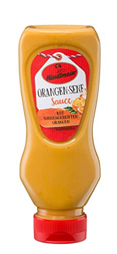 Händlmaier's Feinkost-Sauce Orangen-Senf, 8er Pack (8 x 225 ml)