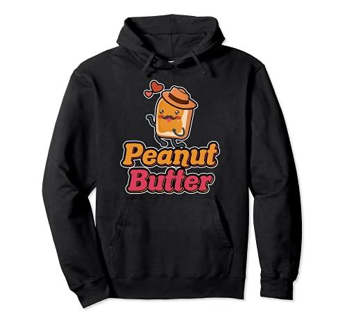 Halloween Peanut Butter Kawaii Passende Paare PB & J Pullover Hoodie