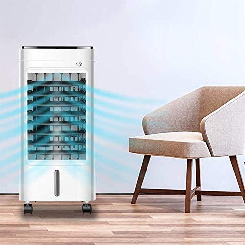 XYSQWZ Unidad de Aire Acondicionado Conjunto montado en la Pared, Compacto, portátil, silencioso Tres en uno Refrigerador de Aire evaporativo/humidificador 65w para Sala de Estar Coche Dormitorio