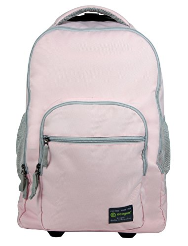 ecogear Rolling Dhole Laptop Backpack, Baby Pink, One Size