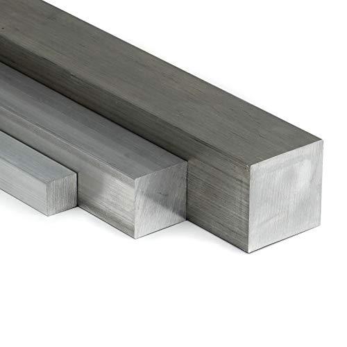 Aluminium Vierkant AW-2007 AlCuMgPb - 50x50mm | L: 500mm (50cm) auf Zuschnitt