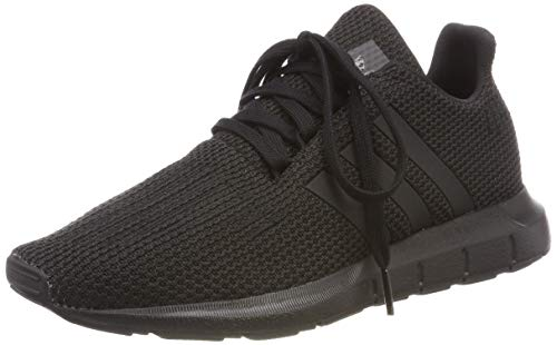 Adidas Swift Run J, Zapatillas de Gimnasia Unisex Niños, Negro Core Black, 36 2/3 EU