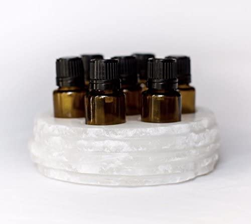 Chiseled Round Essential Oil Holder Case SALENEW very popular Onyx - mart Hand Carved 100%