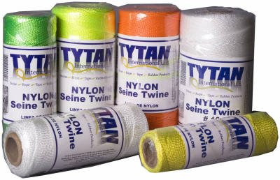 Tytan International Llc Tst181w Twisted Nylon Seine Twine - White
