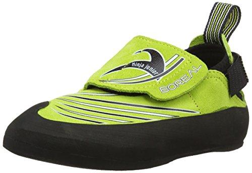 BOREAL Ninja Junior Sportschuhe, Kletterschuhe für Kinder 36 grün
