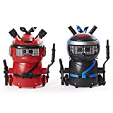 Ninja Bots 2-Pack, Hilarious Battling Robots (Red/Black) with 6 Weapons and Over 100 Sounds and Movements