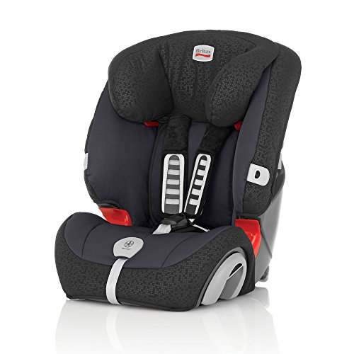 Britax Autositz Evolva 1-2-3 plus, Gruppe 1-2-3 (9-36kg), Kollektion 2015, Black Thunder