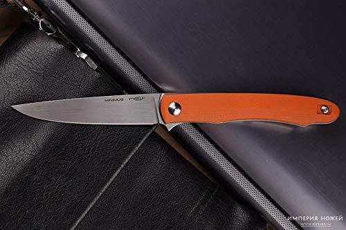 Russisches Taktisches Taschenmesser Minimus Orange NC Customs