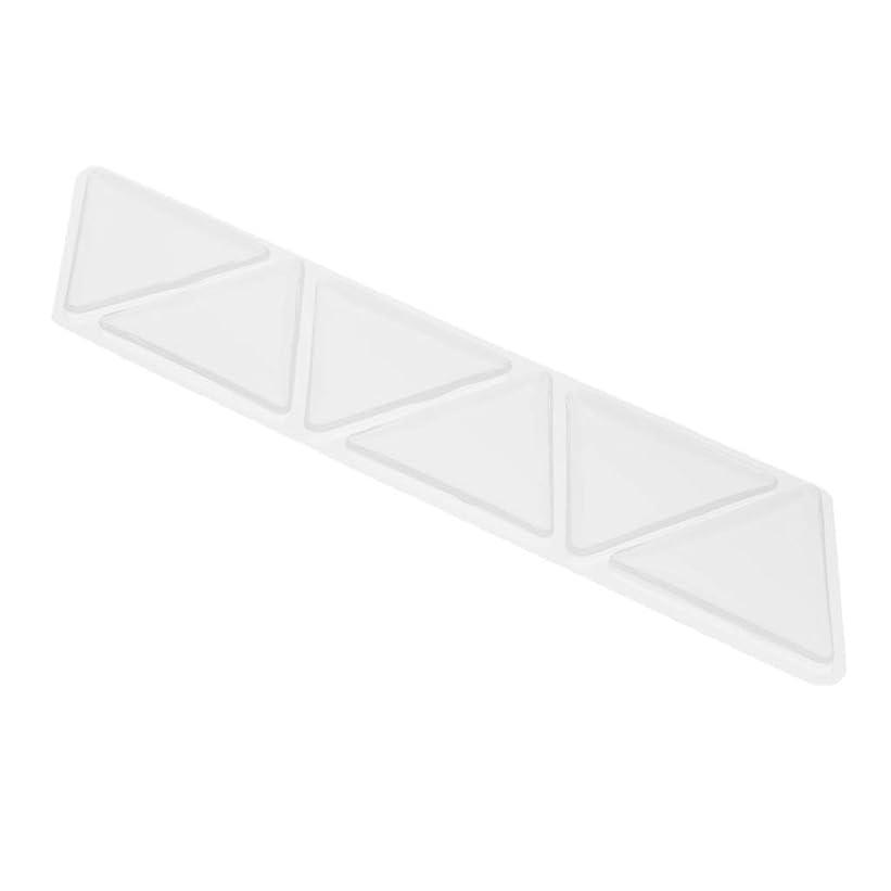 平方生産的放棄D DOLITY シリコーン アンチリンクル 額 パッド パッチスキンケア 三角パッド 6個セット