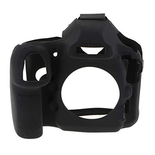 Capa protetora de silicone para câmera Nikon D850 DSLR, preta
