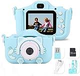 Cámara para Niños Cámara Digitale Selfie para Niños, HD 1200 MP/1080P Doble...