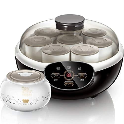 NXYJD Yogur de la máquina Inicio automático de Revestimiento de cerámica 8 Copas Inteligente de múltiples Funciones de Gran Capacidad de la máquina de fermentación de Vino de arroz