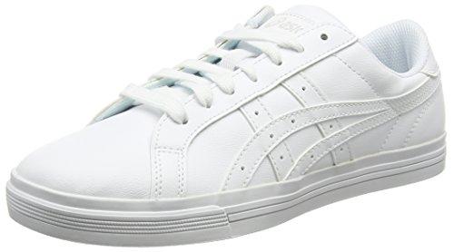 Asics Unisex-Erwachsene Classic Tempo Sneakers, Weiß (White/White), 44 1/2 EU ( 9.5 UK)