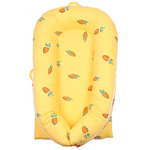 Baby Lounger Cover for Dock A Tot Grand   Premium Quality Newborn Lounger Cover   100% Cotton Hypoallergenic Extra Cover for Dock A Tot Grand Docks   (Cover Only) (Animal Kingdom)