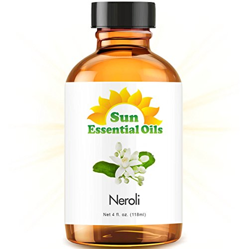 Neroli Essential Oil (Huge 4oz Bottle) Bulk Neroli Oil - 4 Ounce