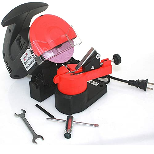 Portable Electric Chainsaw Sharpener Chain Blade Grinder Adjustable 7500 RPM HD NEW,Jikkolumlukka