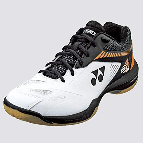 YONEX SHB65Z2 Badminton Shoe-White/Orange