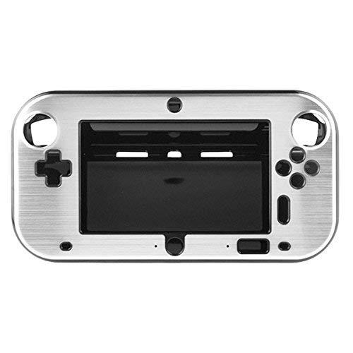 OSTENT Custodia Cover in metallo duro anti-shock in alluminio per Nintendo Wii U Gamepad Color Silver