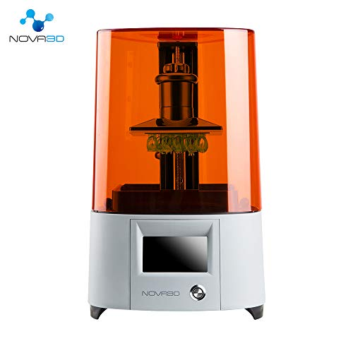 NOVA3D Elfin 3Dプリンター LCD 光造形、130*70*150mm 印刷サイズ、WiFi/オフライン許可する UV LED 樹脂プ...