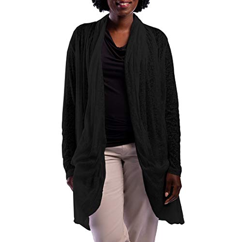 SCOTTeVEST Women's Lucille Travel Cardigan | 4 Secure Pockets | Anti-Pickpocket