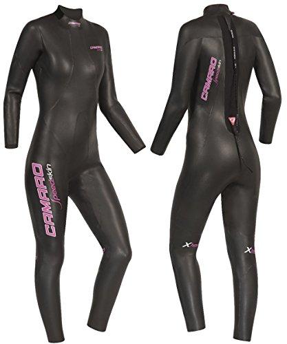 Camaro Damen Speedskin Overall Triathlon Neoprenanzug S Schwarz