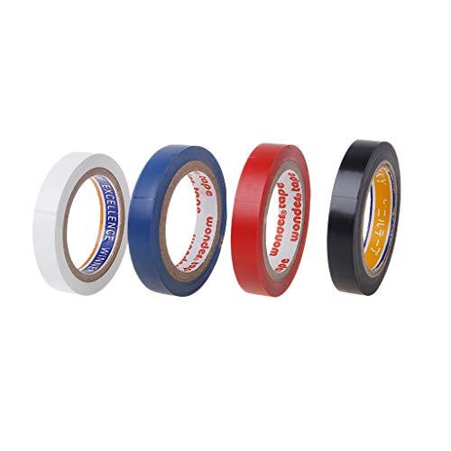 N/A/ 8 m de cinta adhesiva de protección para la cabeza de raqueta de tenis de squash y bádminton