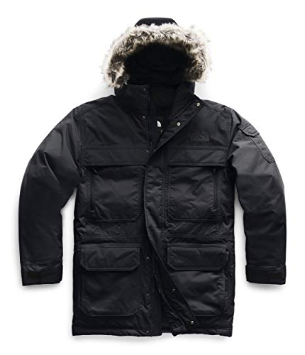 The North Face Men's McMurdo Parka III, TNF Black/TNF Black, Large