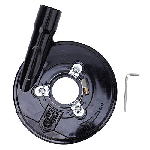 Cubierta de polvo de molienda, amoladora angular de 5 pulgadas Cubierta de polvo Cubierta de polvo Máquina aplicable: amoladora angular de 125/150 mm