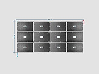 Conector Juego completo incl Pool Piscina Oku Solar absorber Juego de hasta 24/m/² superficie de agua piscina Calefacci/ón